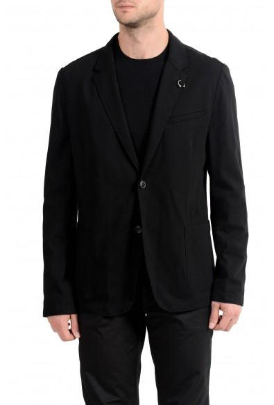 "Hugo Boss ""Ardis-J"" Men's Black Stretch Two Button Blazer Sport Coat"