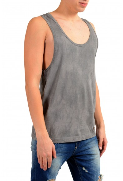 Dolce & Gabbana D&G Men's Faded Gray Tank Top: Picture 2