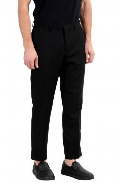 """Hugo Boss """"Gains-WG"""" Men's 100% Wool Black Slim Dress Pants: Picture 2"""