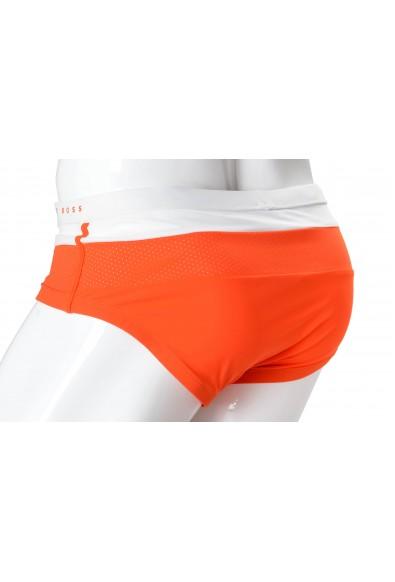 """Hugo Boss """"Rosefish"""" Men's Orange Stretch Swim Briefs: Picture 2"""