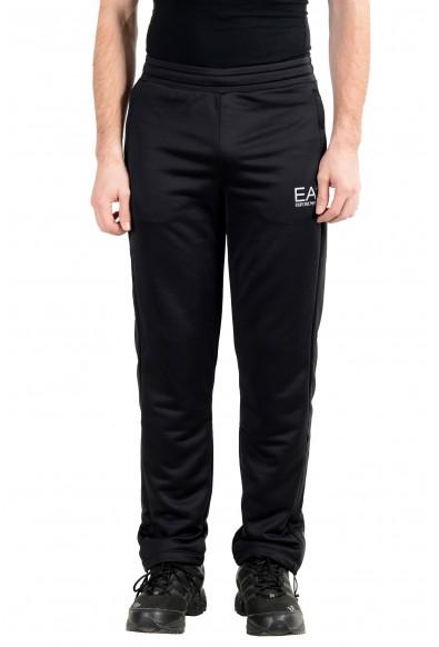 "Emporio Armani EA7 ""Cross fit"" Men's Black Track Sweat Pants"