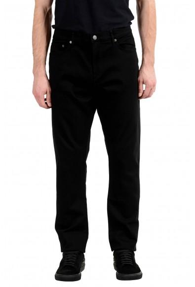 Burberry Britt Black Straight Leg Men's Jeans