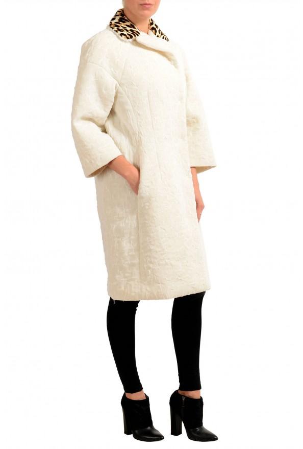 Maison Magiela Off-White Double Breasted Women's Oversized Basic Coat: Picture 2