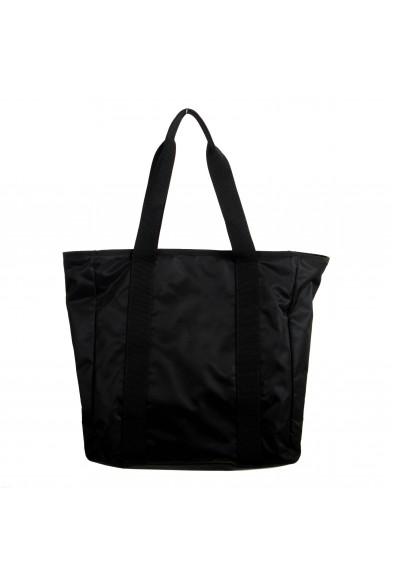 Versace Unisex Black Quilted Medusa Tote Shoulder Handbag Bag: Picture 2
