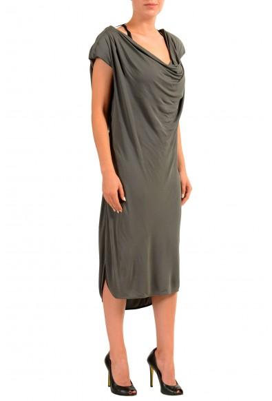 Viktor & Rolf Gray Sleeveless Women's Sheath Dress: Picture 2