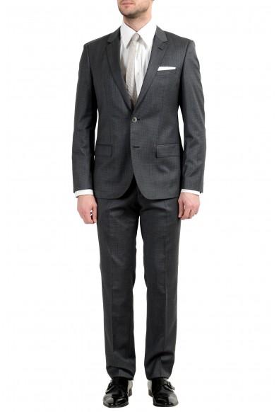 "Hugo Boss ""C-Hutson1/C-Gander"" Men's Gray Wool Two Button Suit"