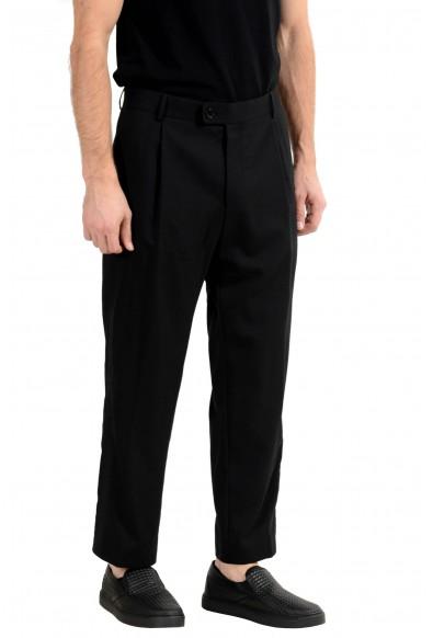 "Hugo Boss ""Fatal191F1"" Men's 100% Wool Black Dress Pants: Picture 2"