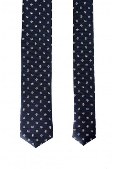 Hugo Boss Men's Blue @ Print 100% Silk Tie: Picture 2