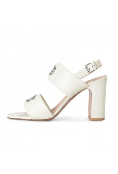 Valentino Garavani Women's Ivory Leather High Heel Sandals Shoes: Picture 2