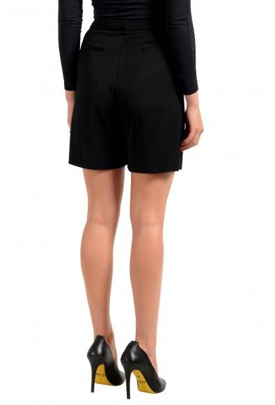 "Hugo Boss Women's ""Aledana"" Black Pleated Dress Shorts: Picture 2"