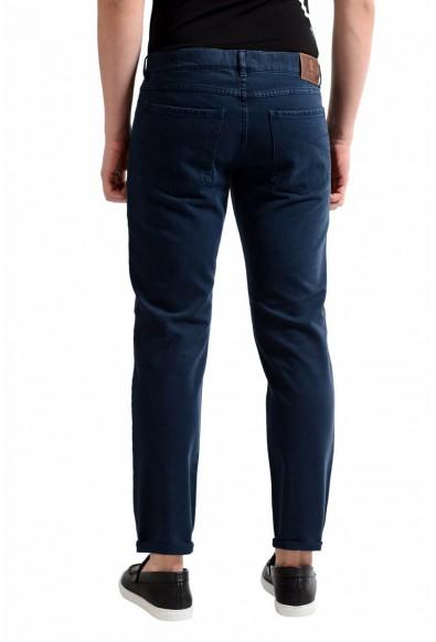 Brunello Cucinelli Men's Navy Blue Slim Fit Jeans: Picture 2