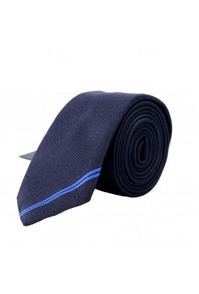 Hugo Boss Men's Purple 100% Silk Tie