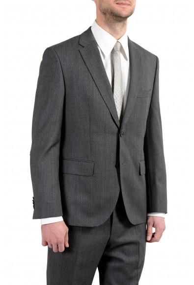 """Hugo Boss """"Johnstons3/Lenon1"""" Men's 100% Wool Gray Two Button Suit: Picture 2"""