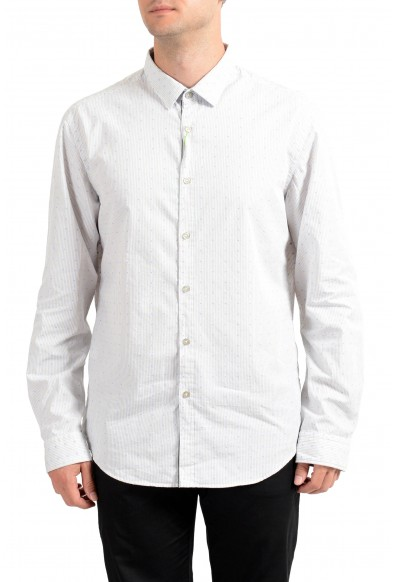 Hugo Boss Men's C-Bence Regular Fit Striped Long Sleeve Casual Shirt
