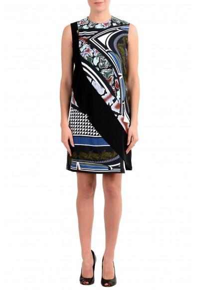 Versace Women's Multi-Color Sleeveless Sheath Dress
