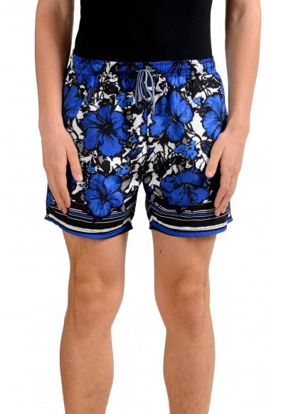 "Hugo Boss ""Piranha"" Men's Floral Print Swim Board Shorts"