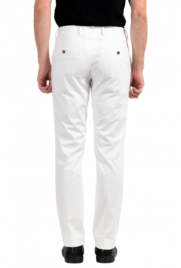 """Hugo Boss """"Genesis2"""" Men's White Stretch Casual Pants : Picture 2"""