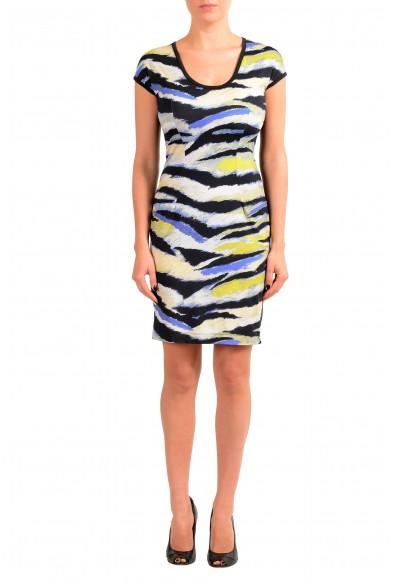 Just Cavalli Women's Multi-Color Stretch Bodycon Dress