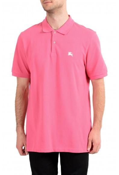 Burberry Brit Men's Pink Short Sleeve Polo Shirt