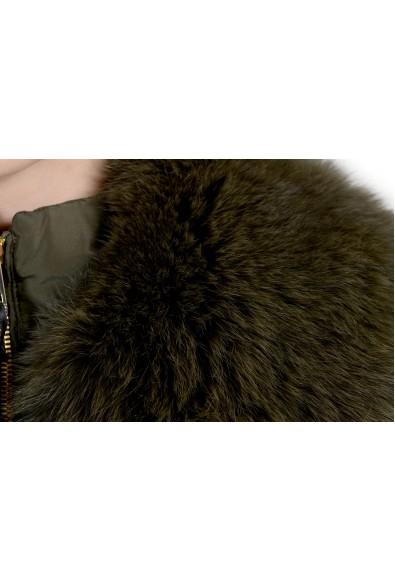 Versace Collection Women's Down Fox Fur Collar Parka Jacket: Picture 2