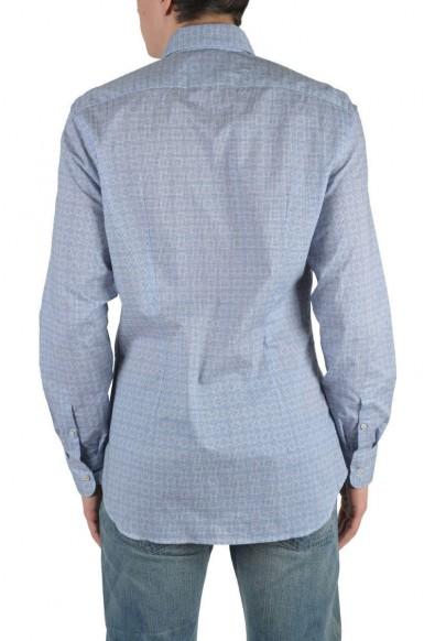 Prada Multi-Color Long Sleeve Dress Shirt: Picture 2
