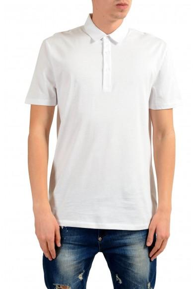 Versace Collection Men's White Short Sleeve Polo Shirt