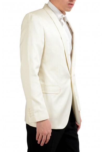 """Dolce & Gabbana """"Martini"""" Men's Off White Striped Blazer Sport Coat: Picture 2"""