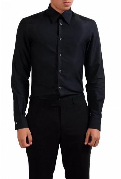 "Versace Collection ""Trend"" Men's Black Dress Shirt"