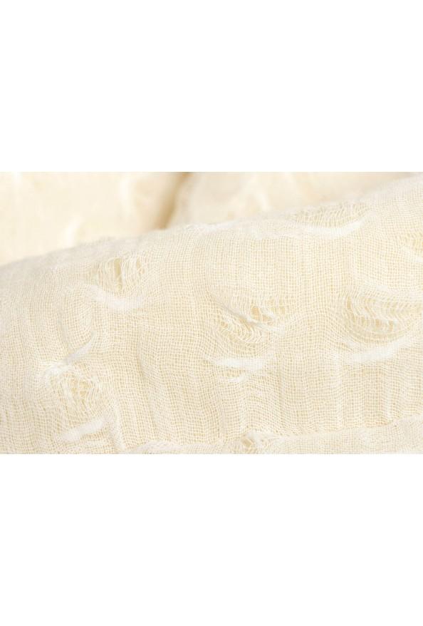 Maison Magiela Off-White Double Breasted Women's Oversized Basic Coat: Picture 4