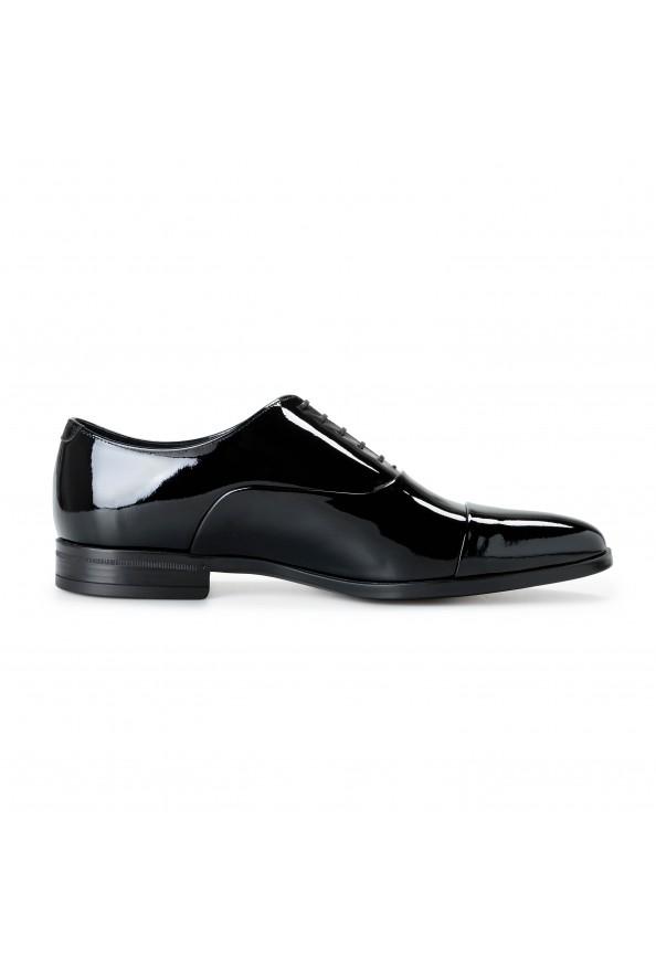 "Hugo Boss Men's ""Portland_Oxfr_pactns"" Black Patent Leather Oxfords Shoes: Picture 6"