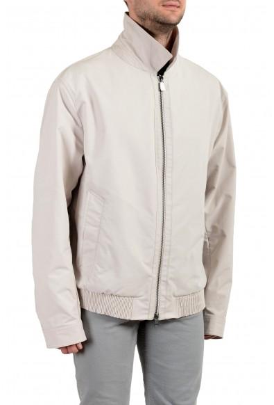 """Hugo Boss """"Cader-WS"""" Men's Beige Full Zip Windbreaker Jacket: Picture 2"""
