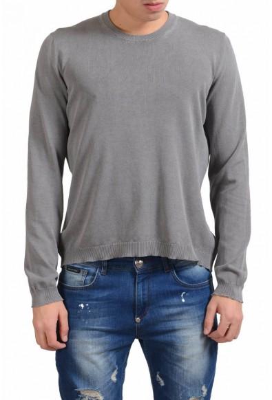 Malo Men's Gray Crewneck Sweater