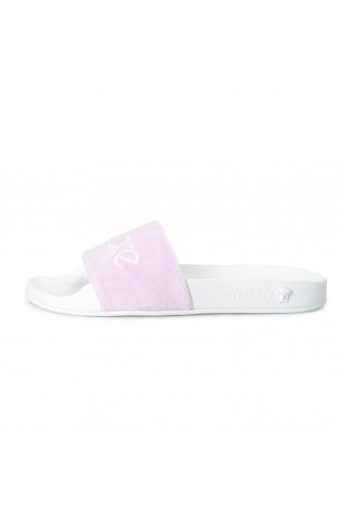 """Versace Women's Pink """"Versace"""" Flip Flops Shoes: Picture 2"""
