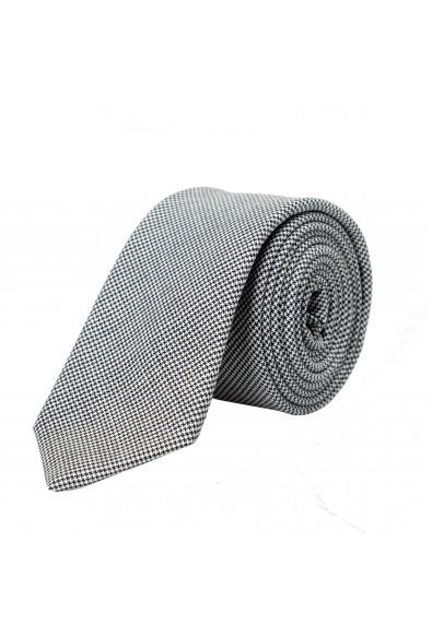 Hugo Boss Men's 100% Wool Houndstooth Print Tie