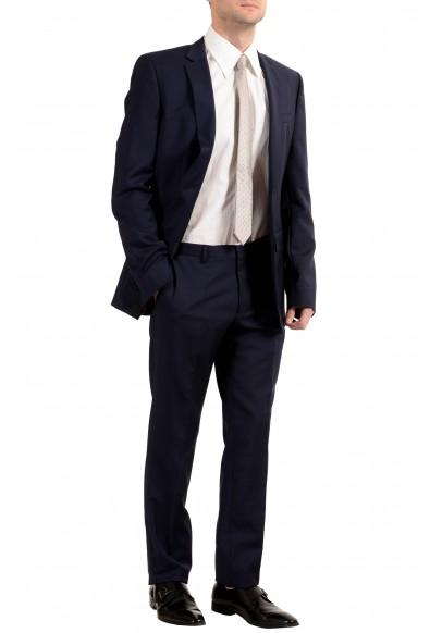 "Hugo Boss ""Huge4/Genius3"" Men's 100% Wool Blue Two Button Suit: Picture 2"