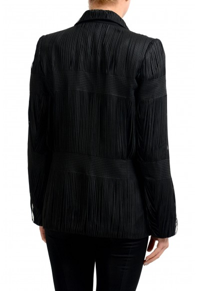 Maison Margiela 1 Wool Black One Button Women's Blazer : Picture 2
