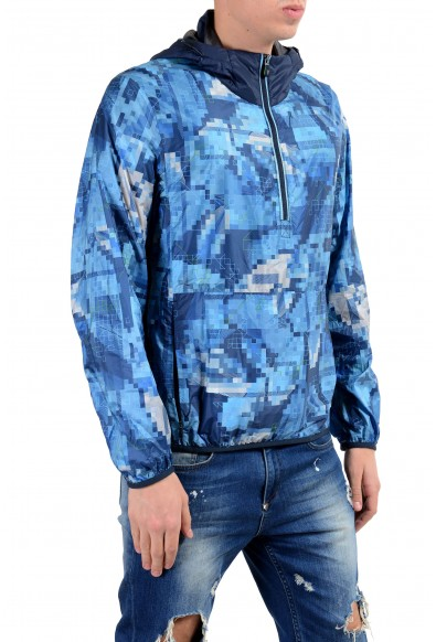 "Hugo Boss ""Jepico"" Men's 1/2 Zip Hooded Water-Resistant Windbreaker Jacket: Picture 2"