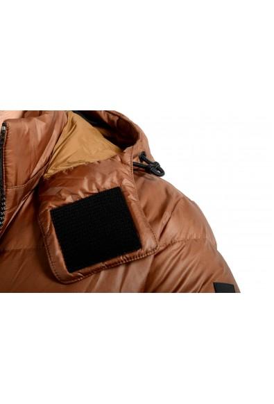 "Hugo Boss Men's ""Dolera"" Brown Hooded Down Parka Jacket: Picture 2"