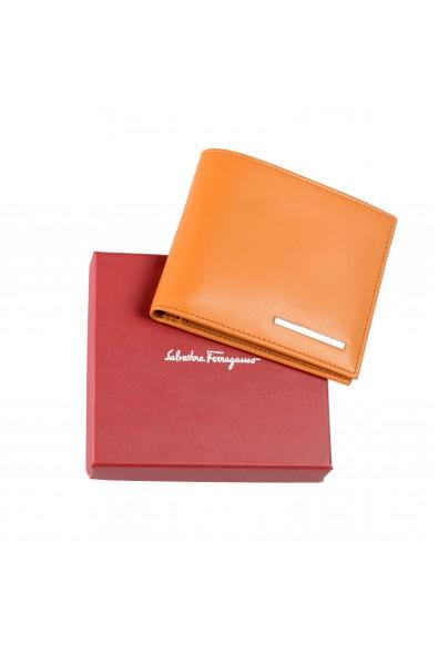 Salvatore Ferragamo Men's Yellow 100% Leather Bifold Wallet: Picture 2