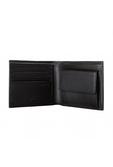 Montblanc Men's Brown Textured Leather Bifold Wallet: Picture 2