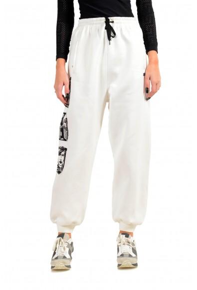 Miu Miu Women's White Sweat Pants