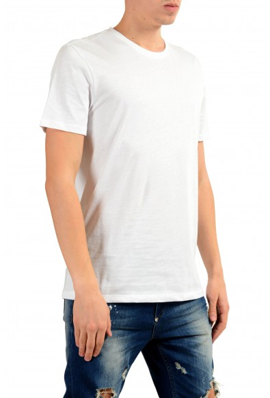 Versace Collection Men's White Graphic Print T-Shirt: Picture 2