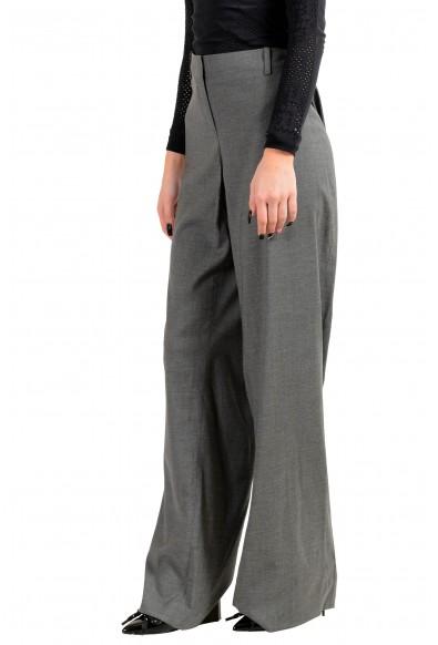 "Hugo Boss Women's ""Tulia4"" Gray Wool Dress Pants: Picture 2"