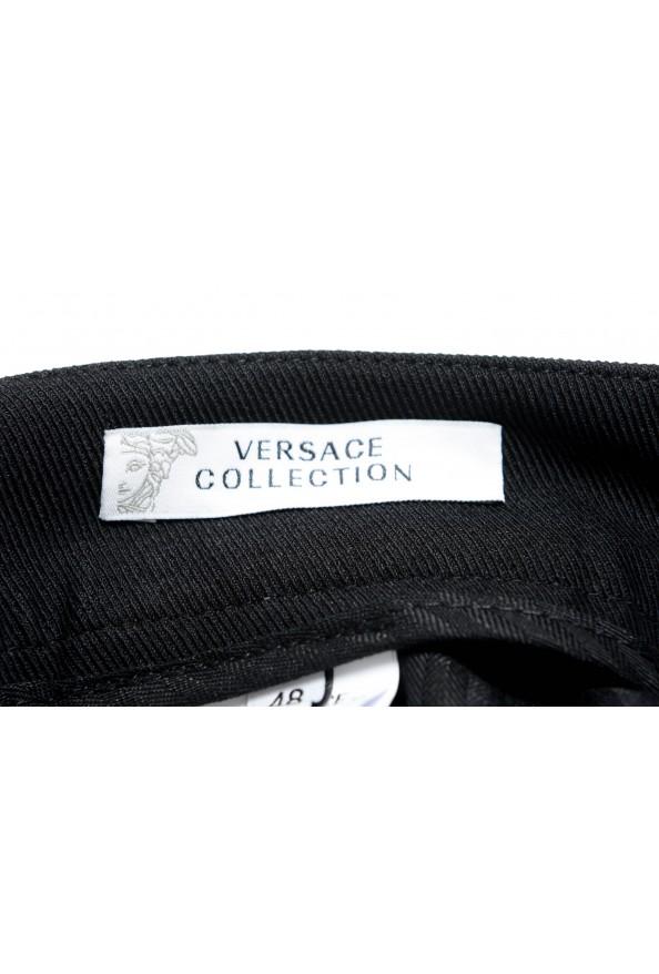 Versace Collection Men's Black Casual Pants: Picture 4