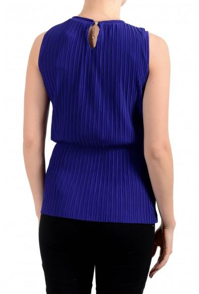 "Hugo Boss Women's ""Emirna"" Purple Stretch Blouse Top: Picture 2"