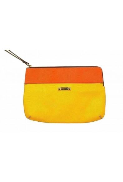 Dsquared2 Leather Multi-Color Women's Wristlet Clutch Bag