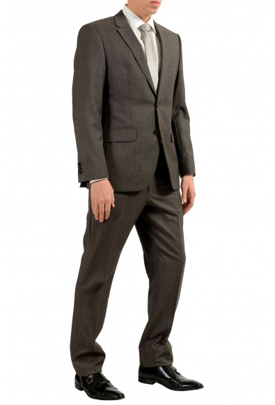 """Hugo Boss """"The Grand1/Central1US"""" Men's 100% Wool Dark Gray Two Button Suit: Picture 2"""