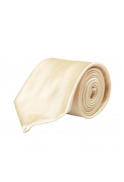 Hugo Boss Men's Beige 100% Silk Tie