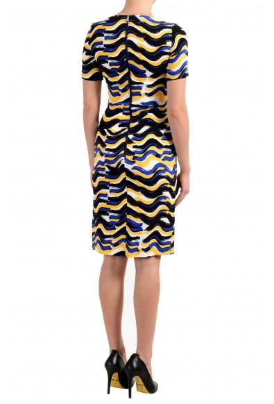 "Hugo Boss Women's ""Dashiba"" Multi-Color Short Sleeve Bodycon Dress: Picture 2"