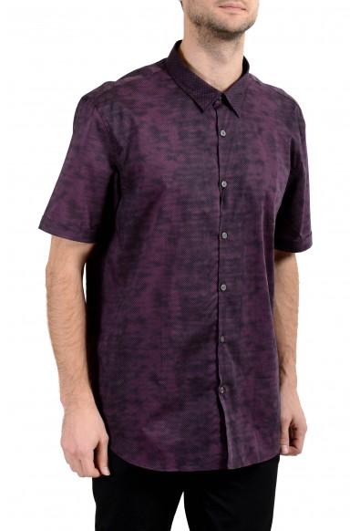 John Varvatos Multi-Color Short Sleeve Men's Casual Shirt: Picture 2